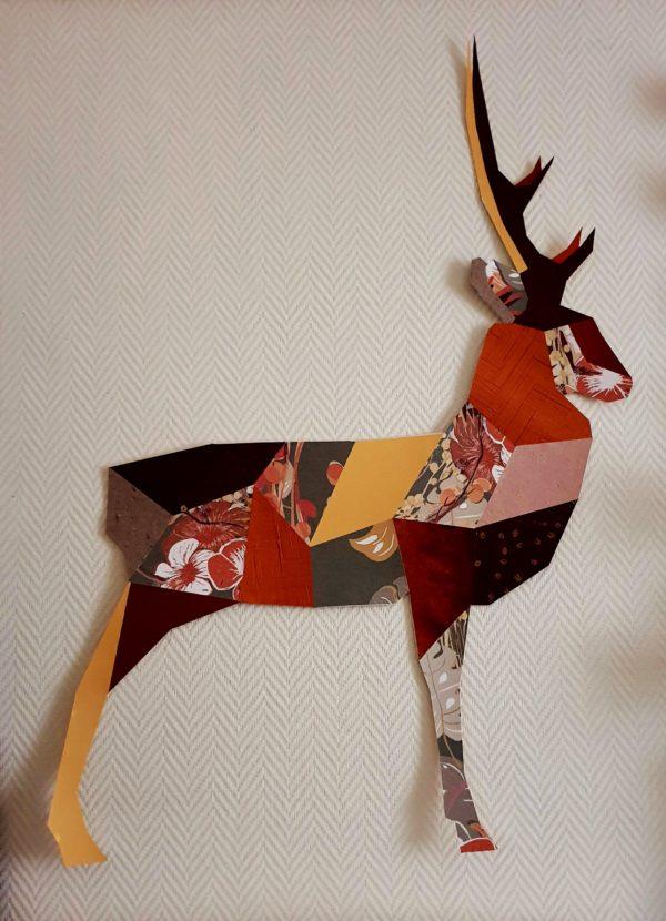 origami cerf